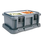 Cambro UPC160191 20-qt Camcarrier Ultra Pan Carrier - (1)Full Size Pan, Granite Gray