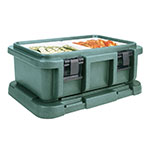 Cambro UPC160192 20-qt Camcarrier Ultra Pan Carrier - (1)Full Size Pan, Granite Green