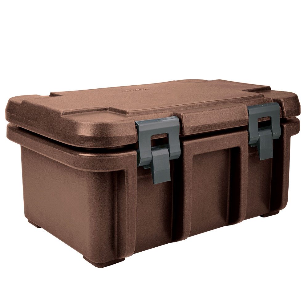 Cambro UPC180131 24-qt Camcarrier Ultra Pan Carrier - (1)Full Size Pan, Dark Brown