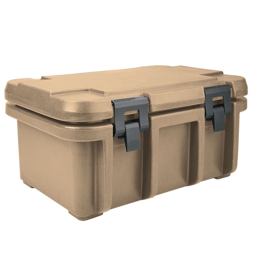 Cambro UPC180157 24-qt Camcarrier Ultra Pan Carrier - (1)Full Size Pan, Coffee Beige