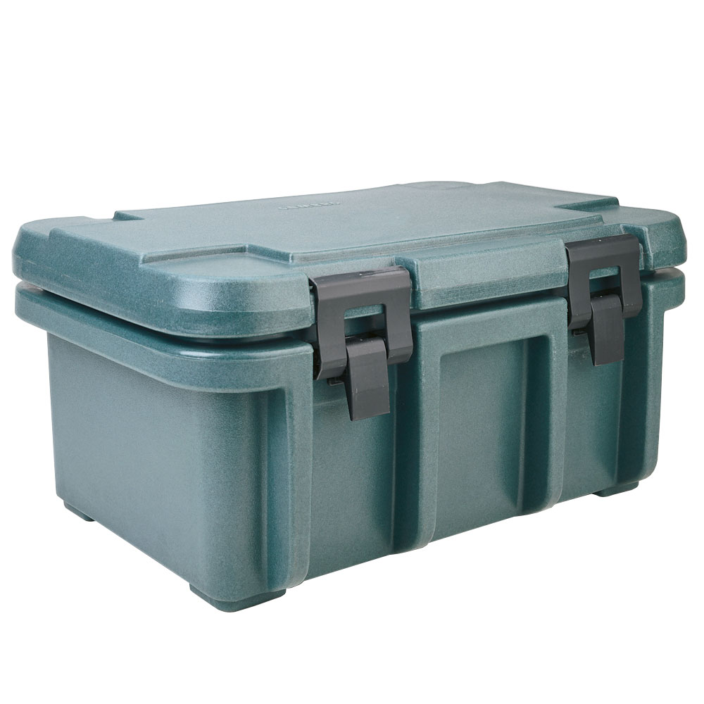 Cambro UPC180192 24-qt Camcarrier Ultra Pan Carrier - (1)Full Size Pan, Granite Green