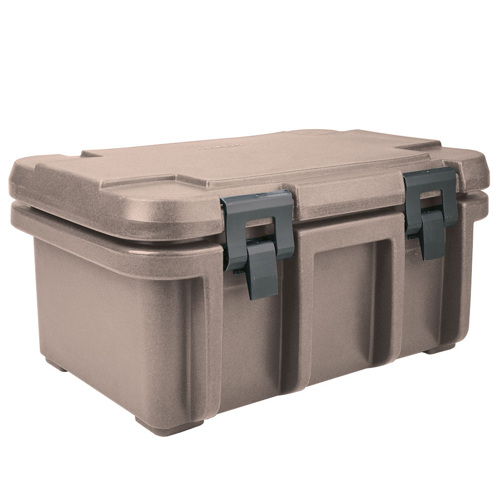 Cambro UPC180194 24-qt Camcarrier Ultra Pan Carrier - (1)Full Size Pan, Granite Sand