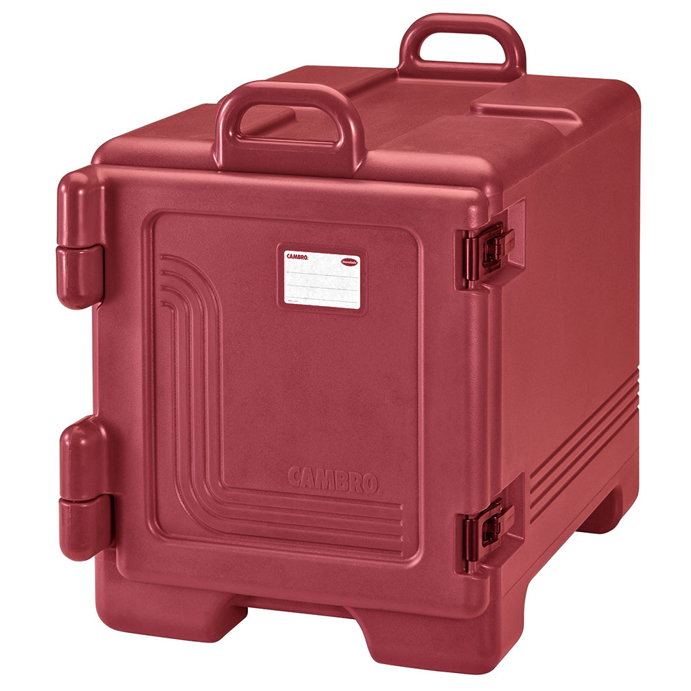 Cambro UPC300158 Camcarrier® Ultra Pan Carrier w/ 4-Pan Capacity, Hot Red