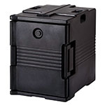 Cambro UPC400110 60-qt Camcarrier Ultra Pan Carrier - Front Loading, Black