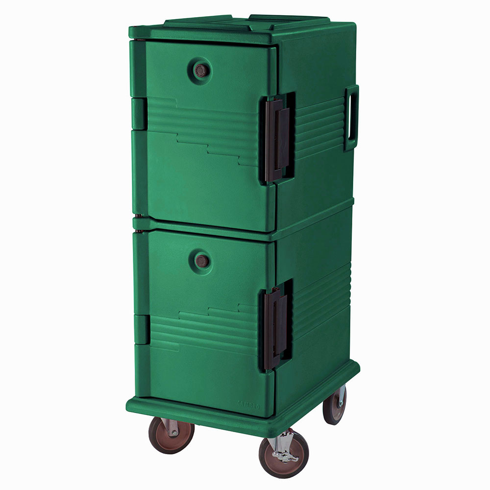 Cambro UPC800519 60-qt Camcart Ultra Pan Carrier - Front Loading, Green
