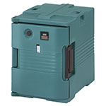 Cambro UPCH400192 Camcarrier Hot Ultra Pancarrier - Front Loading, Granite Green 110v