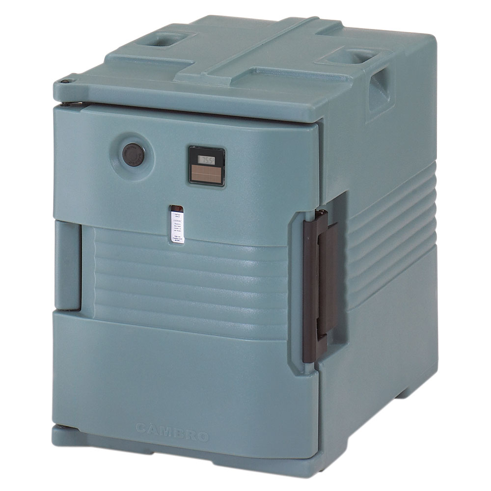 Cambro UPCH4002401 Camcarrier Hot Ultra Pancarrier - Front Loading, Slate Blue 220v
