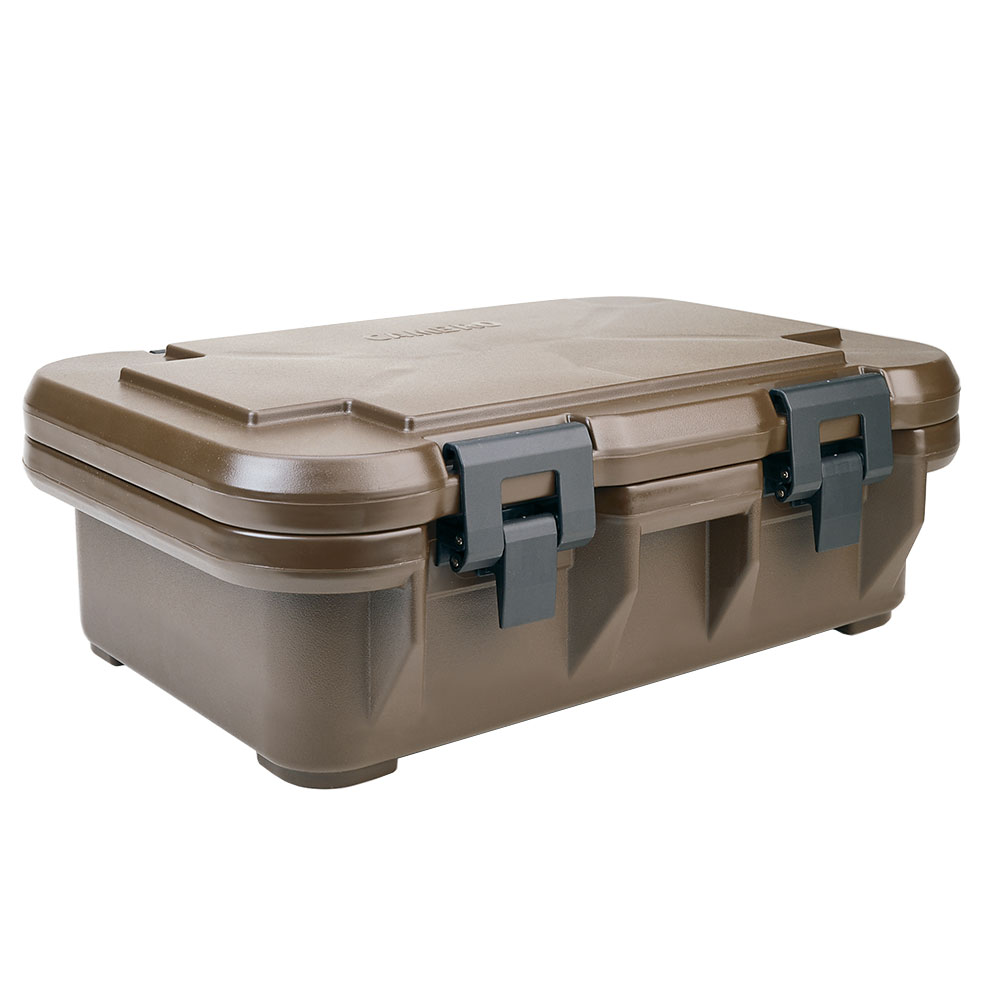 Cambro UPCS140131 12-qt S-Series Pancarrier - Top Loading, Dark Brown