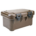 Cambro UPCS160131 20-qt S-Series Pancarrier - Top Loading, Dark Brown
