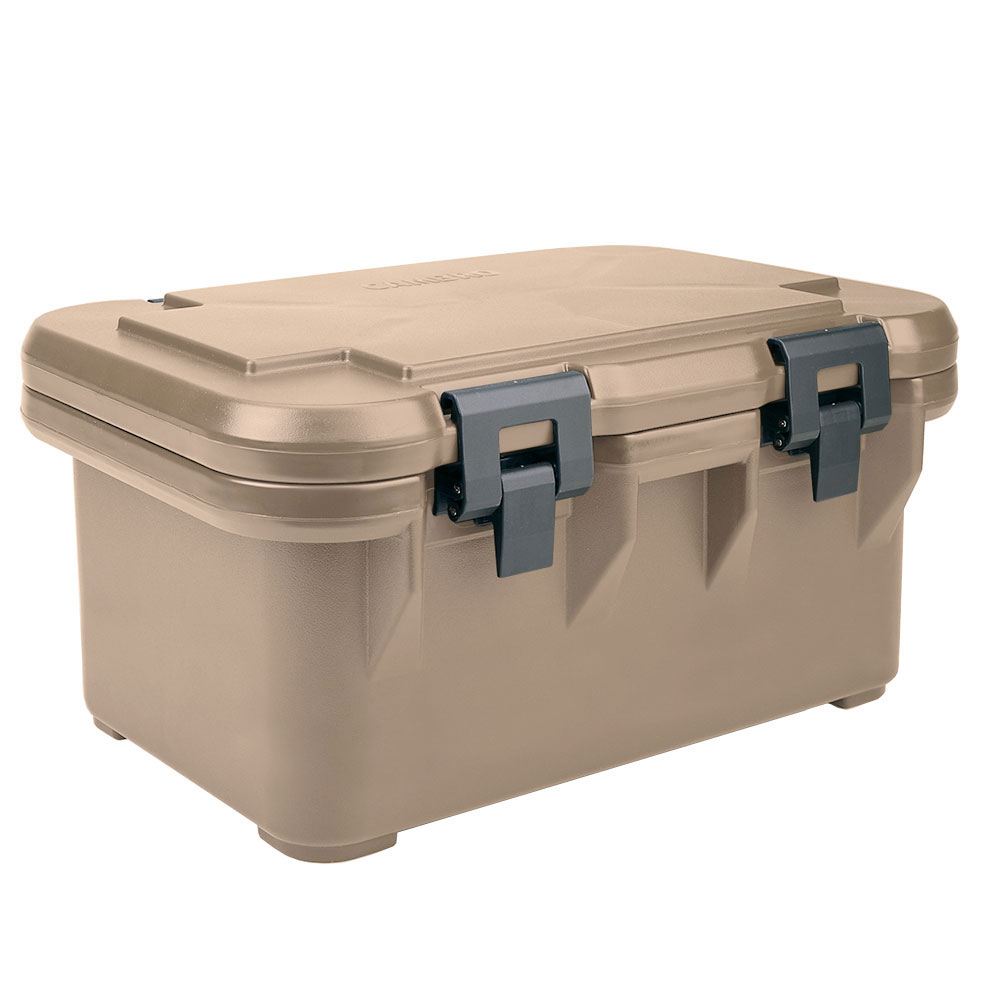 Cambro UPCS160157 20-qt S-Series Pancarrier - Top Loading, Coffee Beige