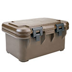 Cambro UPCS180131 24-qt S-Series Pancarrier - Top Loading, Dark Brown