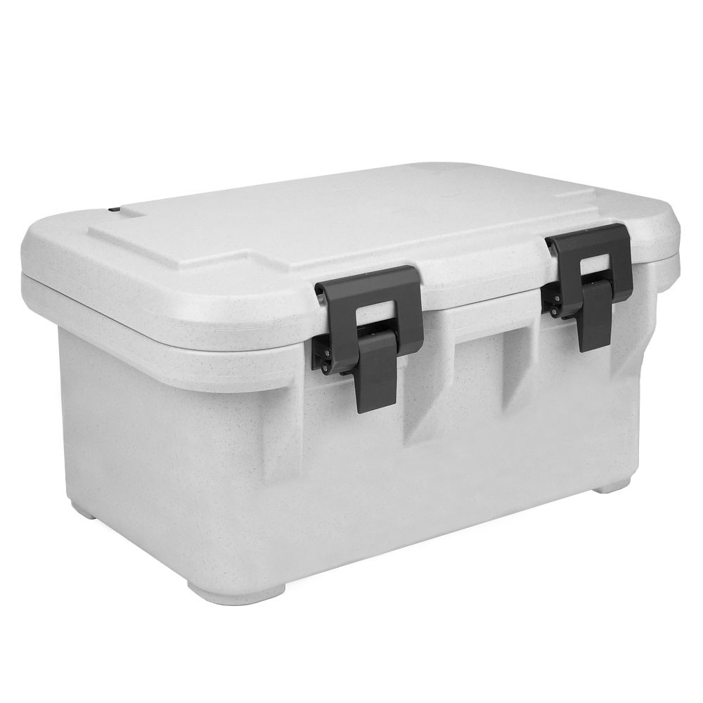 Cambro UPCS180480 24-qt S-Series Pancarrier - Top Loading, Speckled Gray