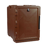 Cambro UPCS400131 60-qt Ultra Pancarrier - Front Loading, Dark Brown