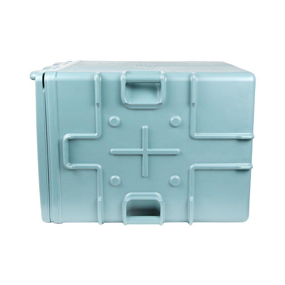 Cambro UPCS400401 60-qt Ultra Pancarrier - Front Loading, Slate Blue