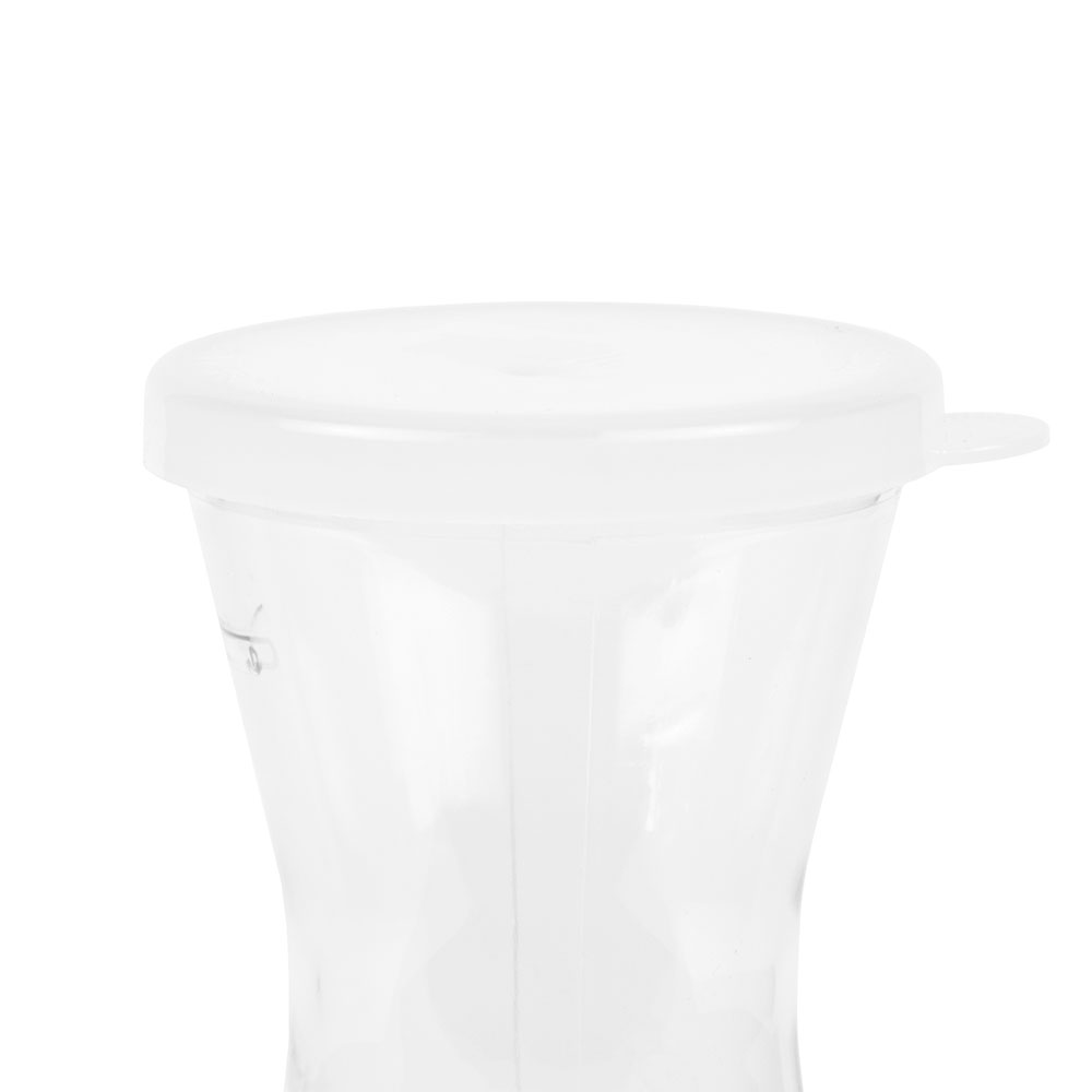 Cambro WW1000135 1-L Camliter Beverage Decanter - Clear