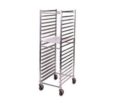 Win-Holt ADE1812B/KDA Mobile Pan Rack w/ Swivel Casters, Holds 12-Full Pans