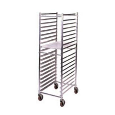 Win-Holt ADE1820B/KDA Mobile Pan Rack w/ Swivel Casters, Holds 20-Full Pans