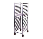 Win-Holt AL-1820BKD/HD Heavy Duty Mobile Pan Rack, Holds 20-Full Pans