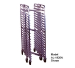 Win-holt AL-1820N Nesting Mobile Pan Rack, Full Height, Open Sides, Heavy Du
