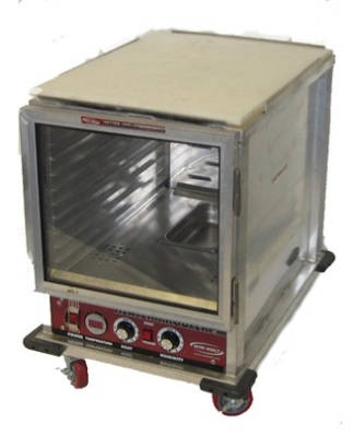 Win-Holt NHPL-1810/HHC 1/2 Height Heated Holding & Proofing Cabinet, Clear Door