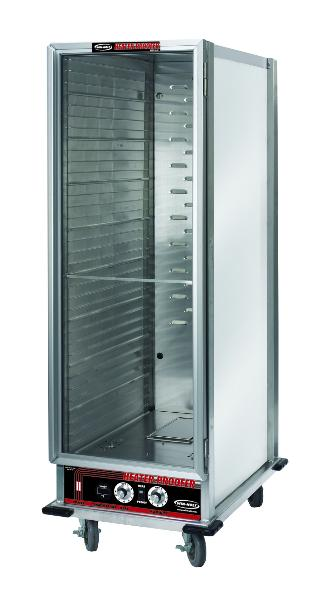 Win-Holt NHPL-1836C Full Height Heated Holding & Proofing Cabinet, Clear Door, Universal Slide
