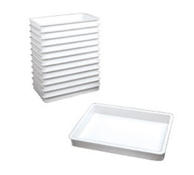 Win-Holt PD-18263 Pizza Dough Box, 18 in x 26 in x 3 in, Heavy Duty ABS Plastic, NSF