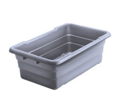 "Win-Holt WHPL8GY Polyethylene Lug, 16"" X 25"" X 8 in, 100 lb. Capacity, Grey"