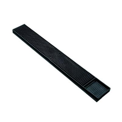 Spill-Stop 160-02 Bar Mat - 3.25 x 24, Black
