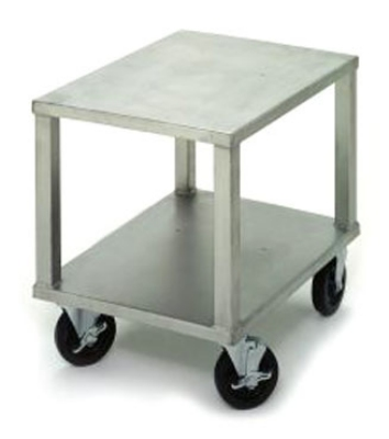 Varimixer 223C Stainless Mixer Table w/ 5-in Casters, 18 x 24 x 22-in