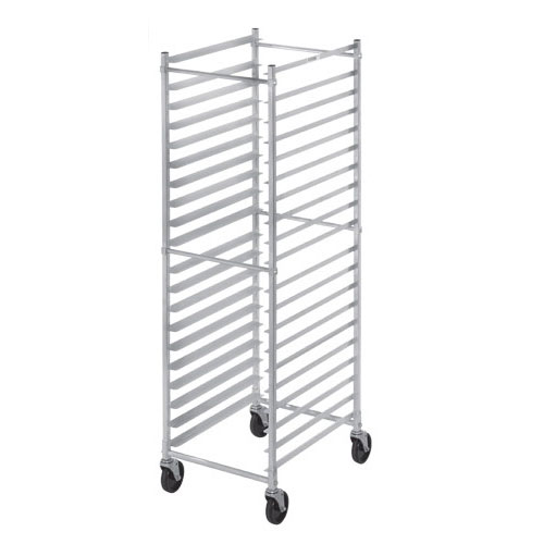Channel 401AKD 20.5 20-Bun Pan Rack w/ 3 Bottom Load Slides