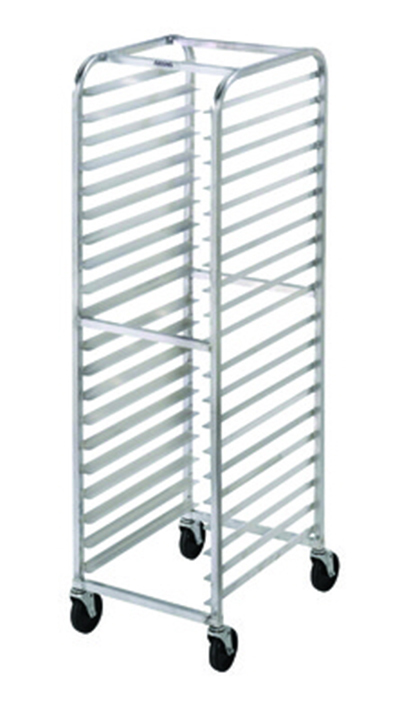 "Channel 416AC Side Loading Bun Pan Rack w/ 18-Pan Capacity & 3"" Spacing, Aluminum"