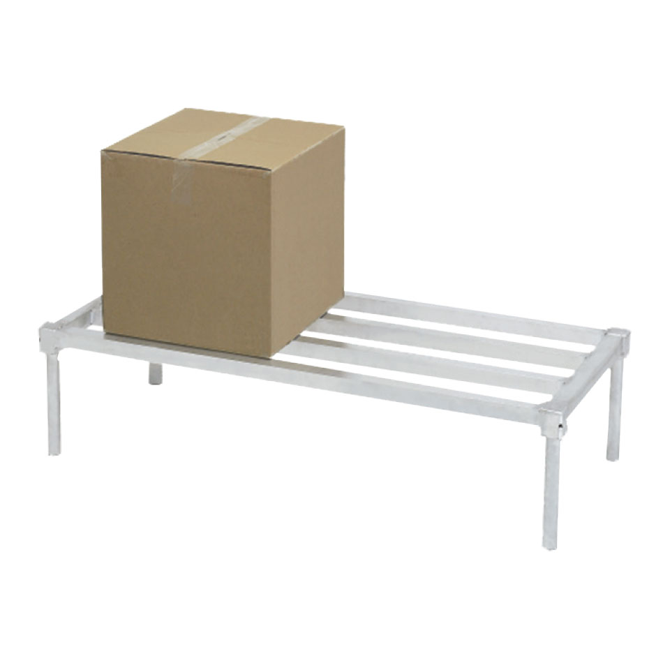"Channel ADE2036KD 36"" Stationary Dunnage Rack w/ 2200-lb Capacity, Aluminum"
