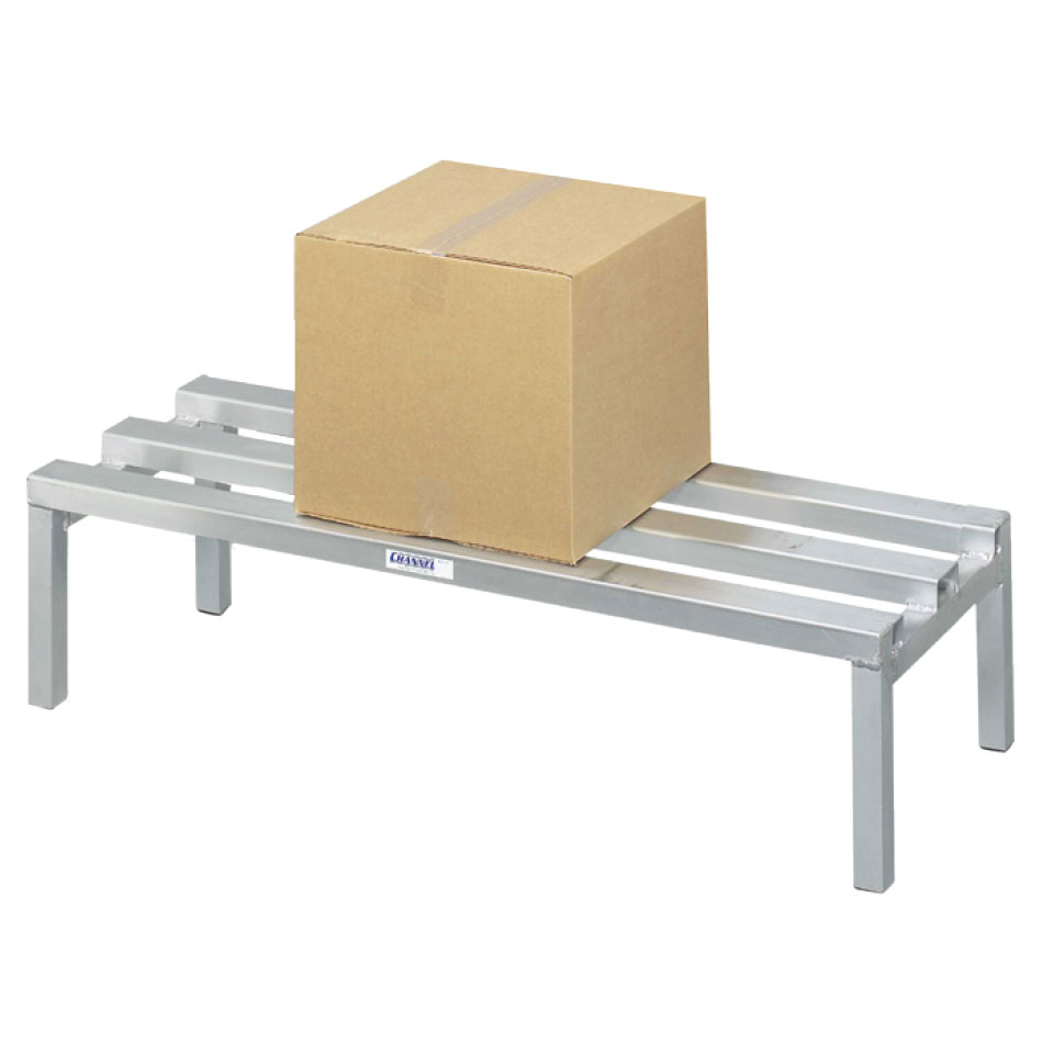 "Channel ADR2048 48"" Stationary Dunnage Rack w/ 2200-lb Capacity, Aluminum"