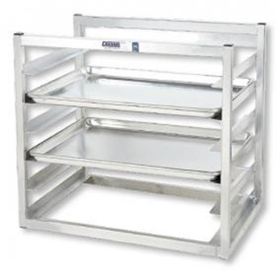 "Channel AWM10 14.5""W 10-Sheet Pan Rack w/ 3"" Bottom Load Slides"