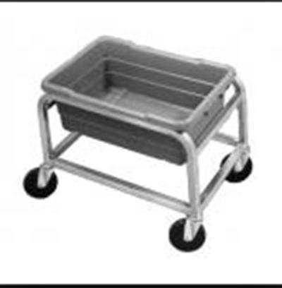 Channel AXD501L 16-in Lug Rack w/ 1-Lug Capacity & Swivel Casters, Aluminum
