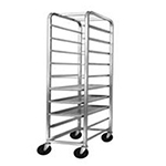 "Channel AXD516P 70"" Platter Rack w/ 12-Platter Capacity for 10.5"" Platter & 5-n Spacing, Aluminum"
