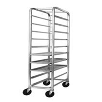 Channel AXD516P 70-in Platter Rack w/ 12-Platter Capacity For 10.5-in Platter & 5-n Spacing, Aluminum