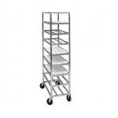 Channel AXD518P 70-in Platter Rack w/ 12-Platter Capacity For 12.5-in Platter & 5-in Spacing, Aluminum