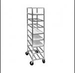 Channel AXD520P 70-in Platter Rack w/ 12-Platter Capacity For 18-in Platter & 5-in Spacing, Aluminum