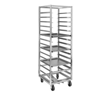 Channel 404A-OR Front Loading Oven Rack w/ 10-Pan Capacity & 6-in Spacing, Aluminum
