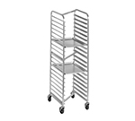 "Channel 402AN 70.25"" Front Loading Bun Pan Rack w/ 15-Pan Capacity & 4"" Spacing, Aluminum"