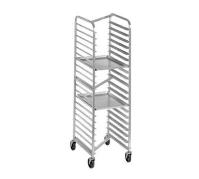 "Channel 401SN Front Loading Bun Pan Rack w/ 20-Pan Capacity & 3"" Spacing, Stainless"