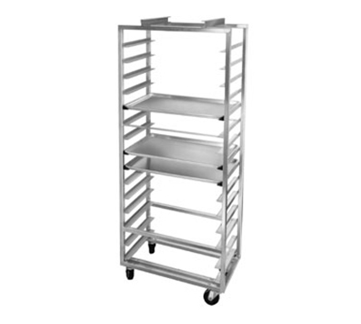 "Channel 413A-OR Side Loading Oven Rack w/ 12-Pan Capacity & 5"" Spacing, Aluminum"