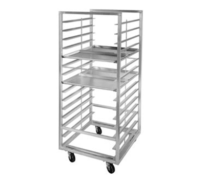 "Channel 413A-DOR Side Loading Oven Rack w/ 24-Pan Capacity & 5"" Spacing, Aluminum"