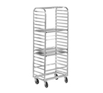 "Channel 416A Standard Side Loading Bun Pan Rack w/ 18-Pan Capacity & 3"" Spacing, Aluminum"