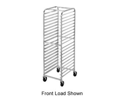 "Channel 411AC Economy Side Loading Bun Pan Rack w/ 20-Pan Capacity & 3"" Spacing, Aluminum"