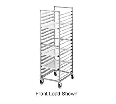 "Channel 411S Standard Side Loading Bun Pan Rack w/ 20-Pan Capacity & 3"" Spacing, Stainless"