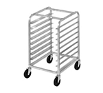 "Channel 431A Front Loading Bun Pan Rack w/ 6-Pan Capacity & 4"" Spacing, Aluminum"