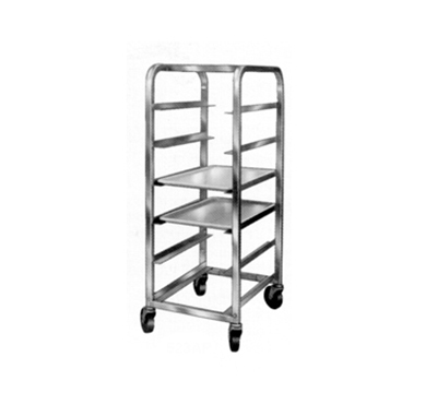 "Channel 524SP Platter Rack w/ 6-Platter Capacity for 18"" Platter & 6"" Spacing, Stainless"