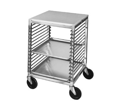 "Channel 567/P Front Loading Bun Pan Rack w/ 15-Pan Capacity & 1.5"" Spacing, Aluminum"
